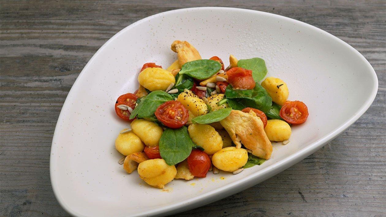 Sommerküche Hähnchen : Hähnchen gnocchi pfanne mit zitrus curry rama