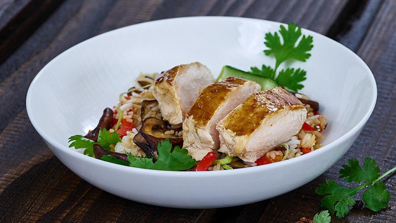 Hainanese Chicken Reis