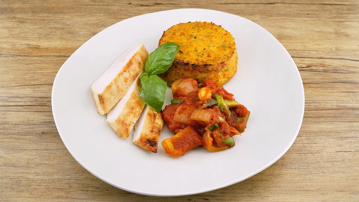 Hellmann´s Hähnchen mit mediterranem Kartoffel-Gemüse