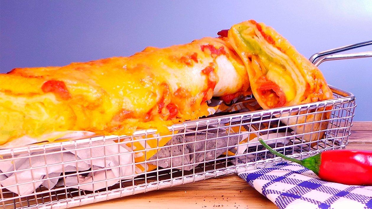 Hühnchen Enchilada