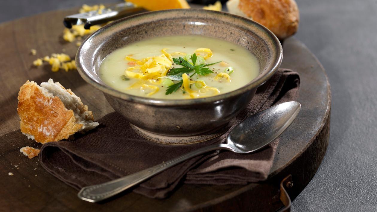 Kartoffel Suppe England - Cheddar
