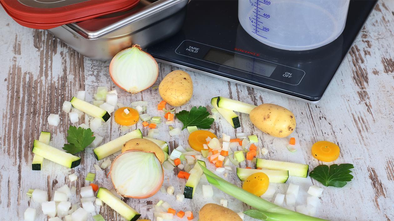 Kohlrabi Zucchinieintopf