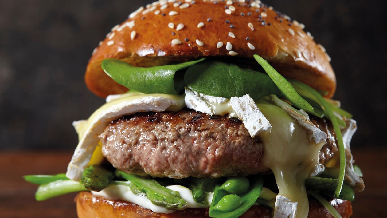 Lamm Burger