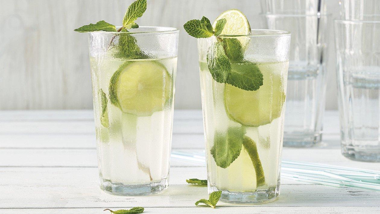 Limetten - Wasser