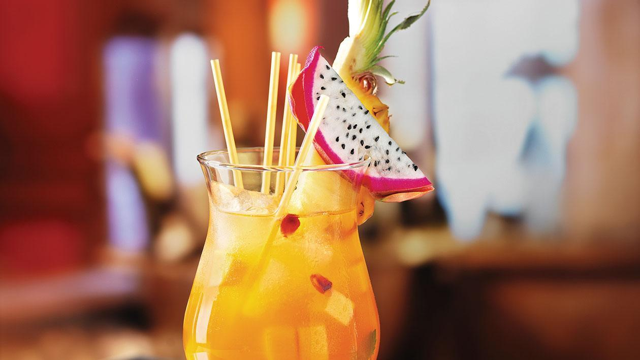 Long Island Mango & Peach Tea Drink