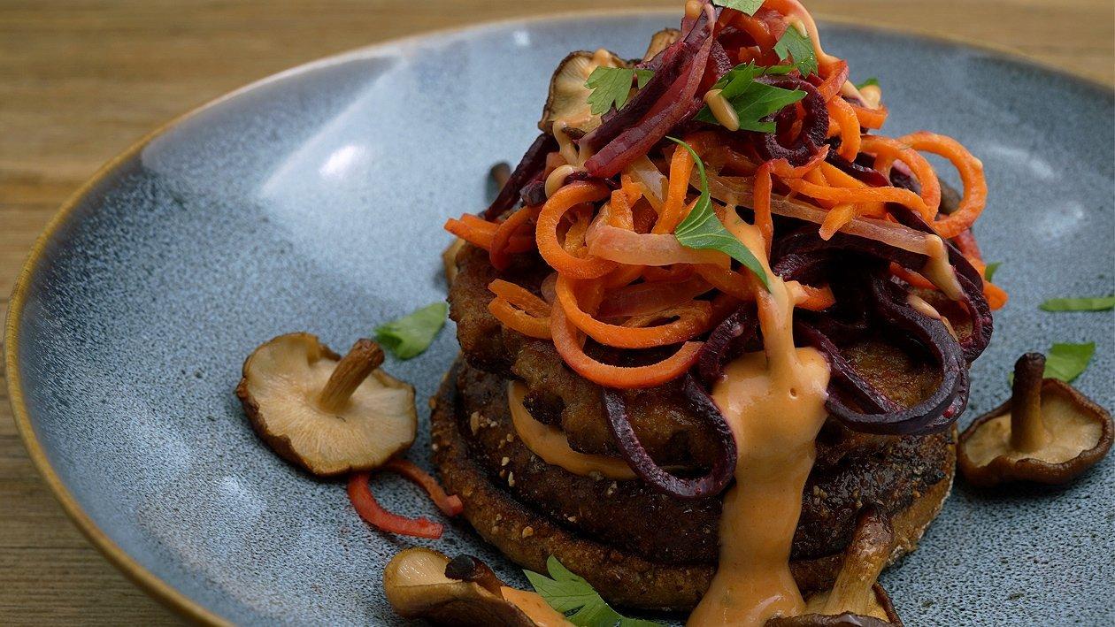 Low Carb NO Beef Burger