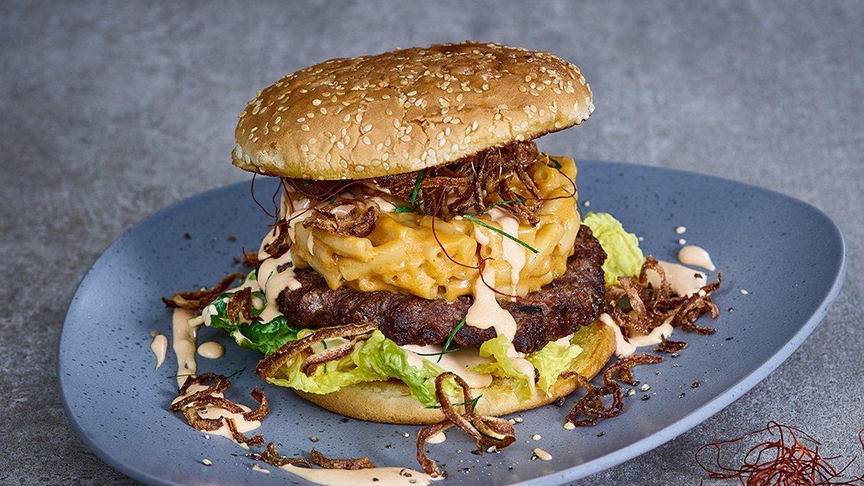 Mac ´N´ Cheese Beef Burger