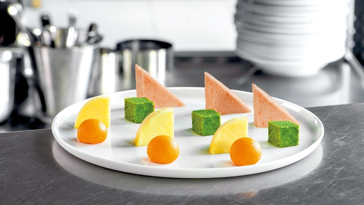 """Pürierte Karotten """"Fingerfood"""""""