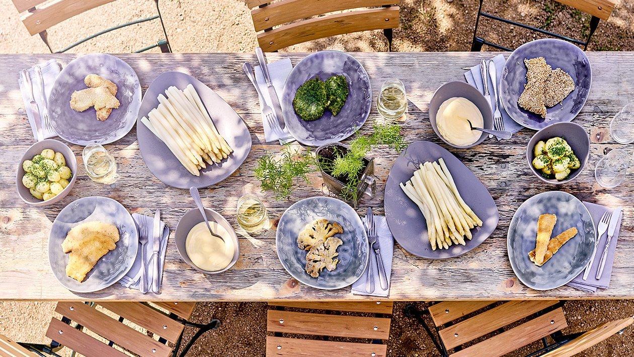 Schnitzel mit Petersilienpanade