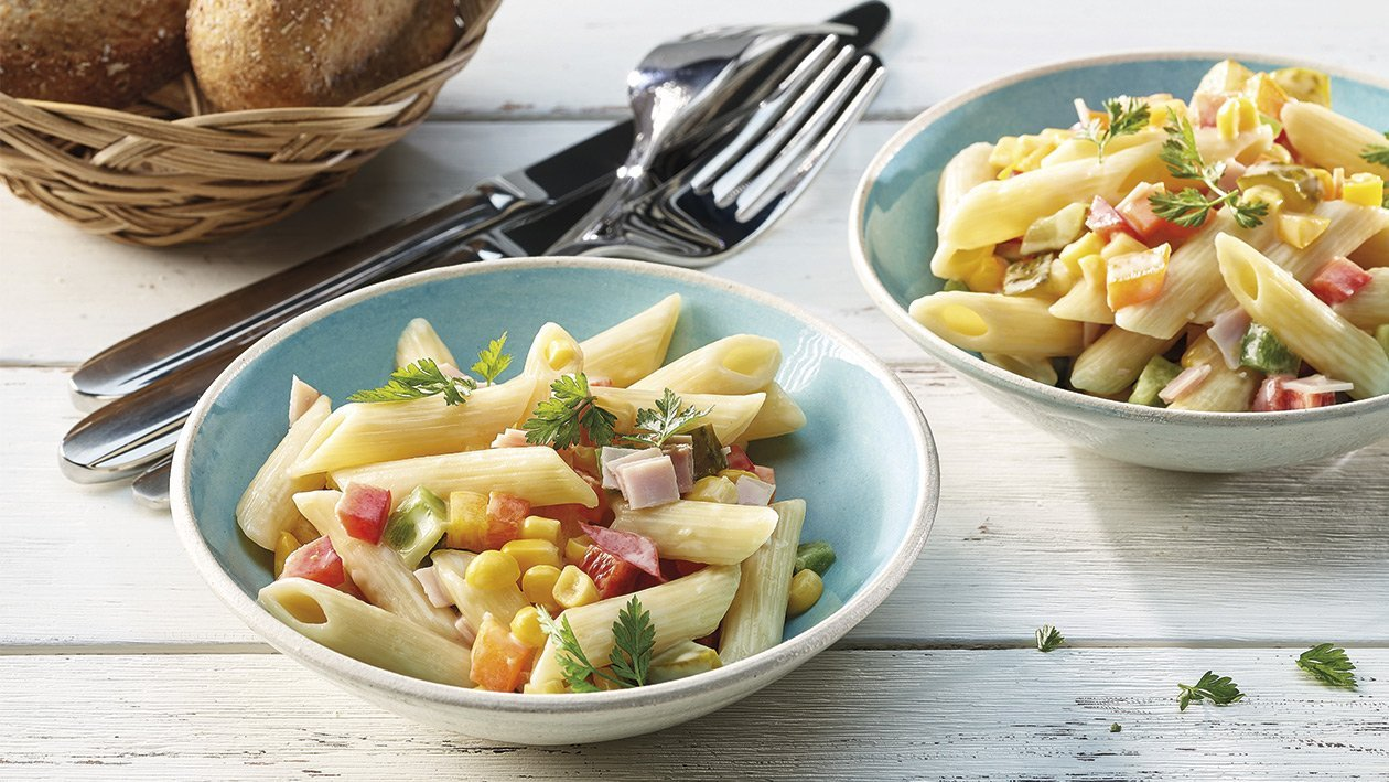 Sommerlicher Pasta-Salat