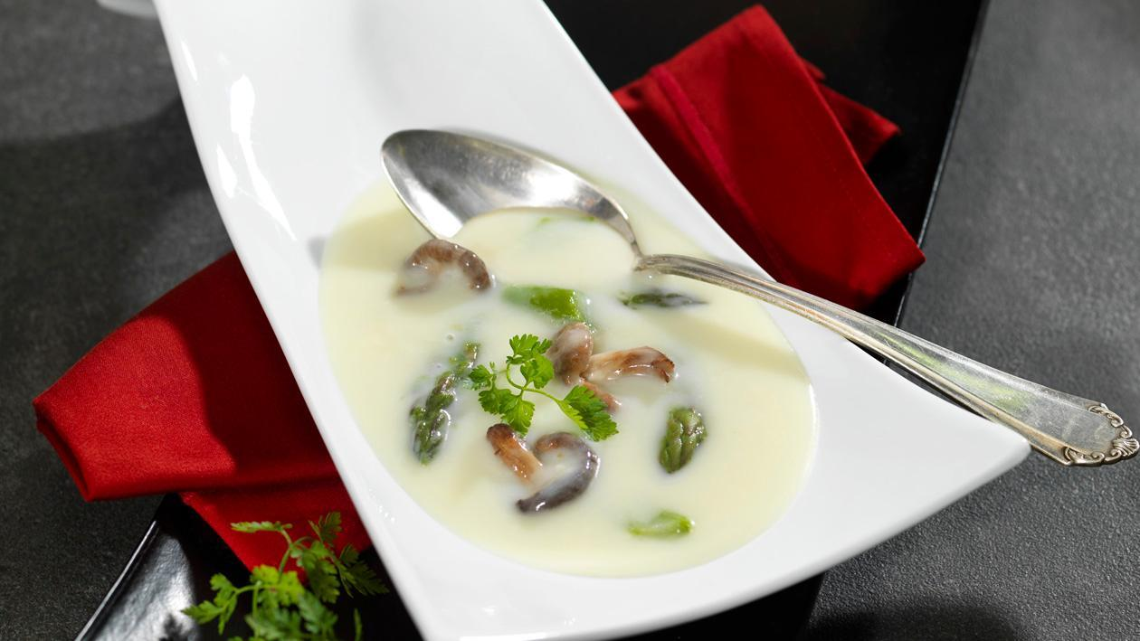 Spargel Cremesuppe Thailand - Kokosmilch