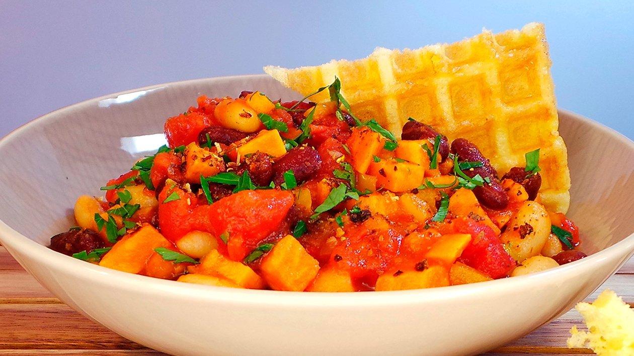 Süßkartoffel - Bohnen - Chili