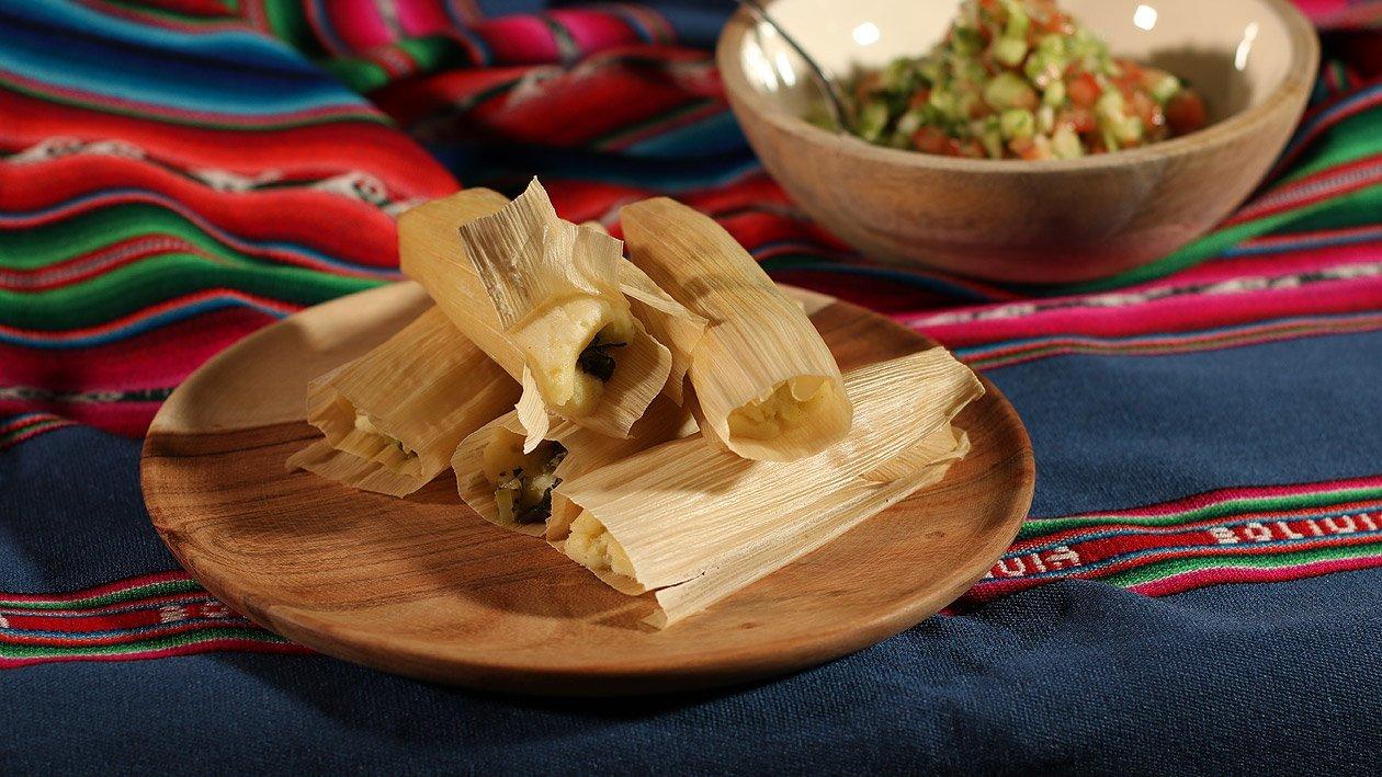 Tamales mit Pevre