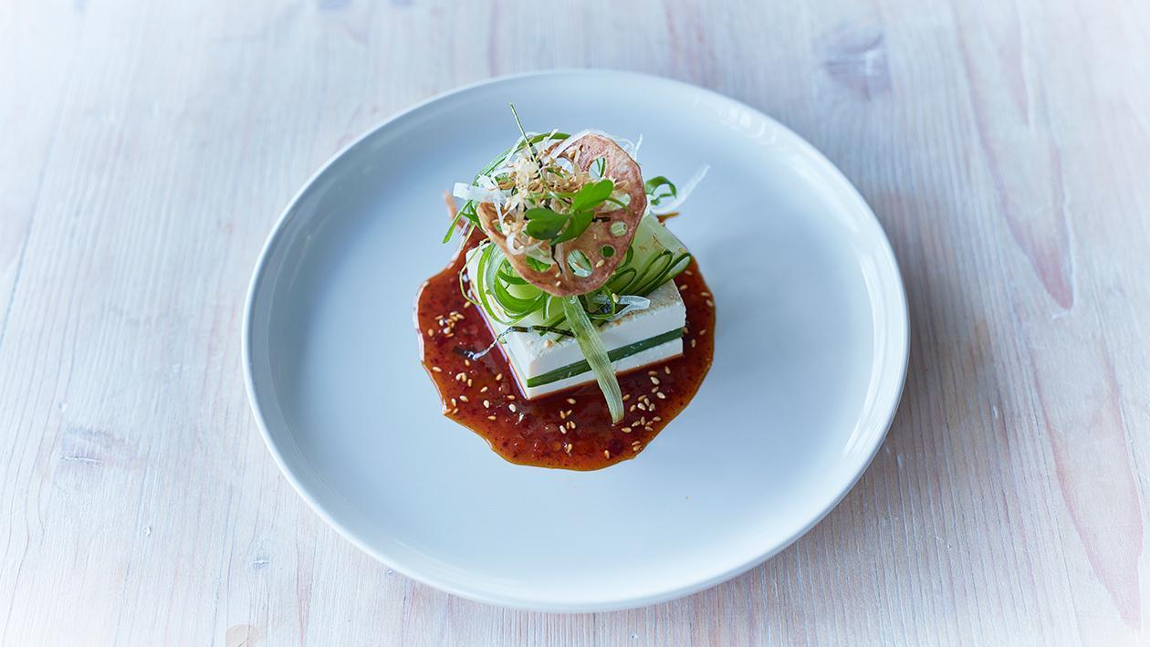 Tofu - Gurkensalat