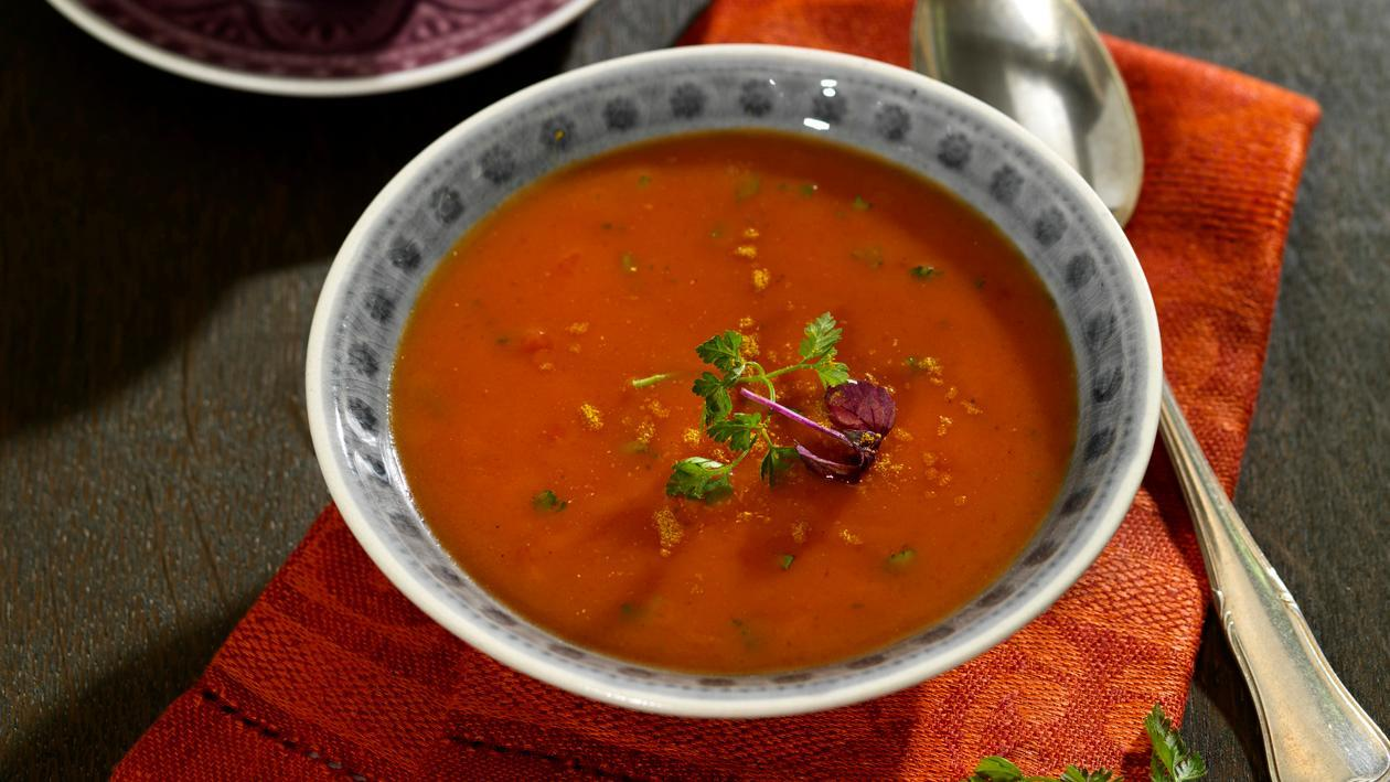 Tomaten Cremesuppe Indien - Curry