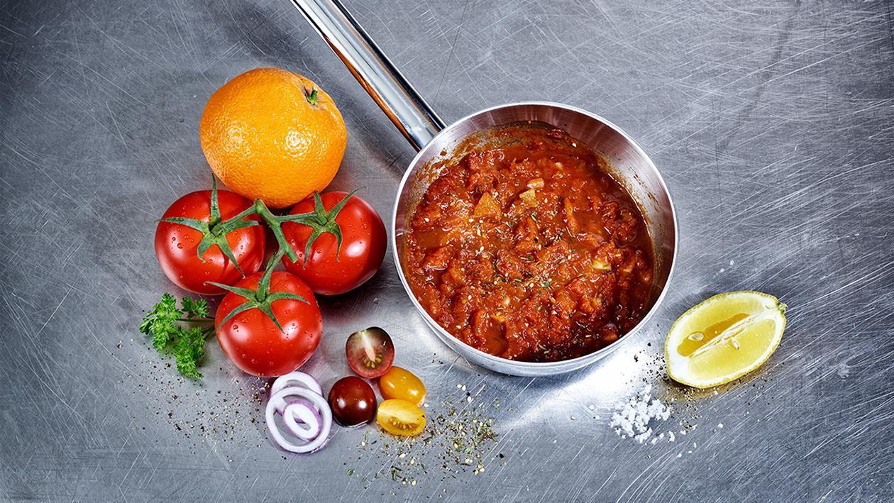 Tomaten Zwiebel Chutney