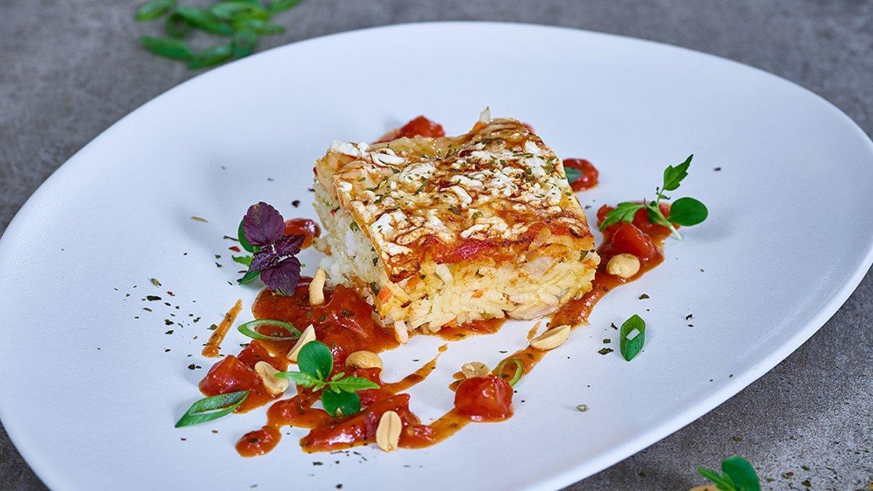 Truthahn Risotto Lasagne