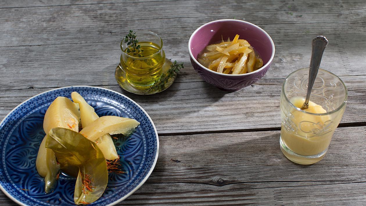 Zitronenragout