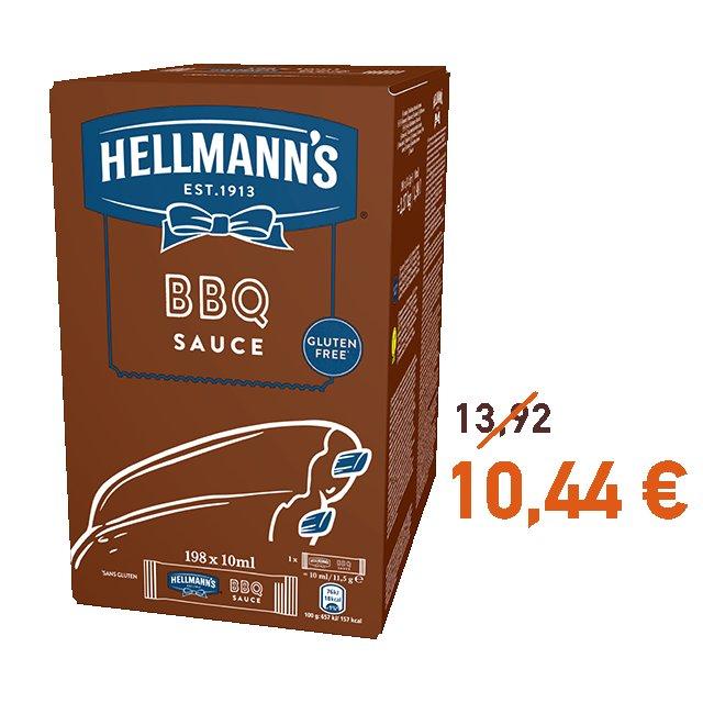 Ηellmann's BBQ Μεριδάκια 10 ml -
