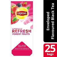 Lipton Μαύρο Τσάι Φρούτα του Δάσους 25 Φακελάκια