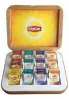 Lipton Ξύλινη Κασετίνα 84 Φακελάκια