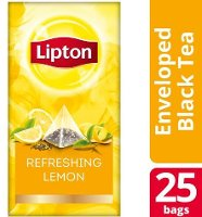 Lipton Πυραμίδα Λεμόνι 25 Φακελάκια
