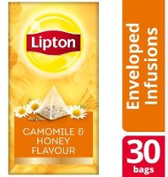 Lipton Πυραμίδα Χαμομήλι και Μέλι 30 Φακελάκια