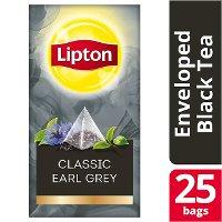 Lipton Πυραμίδα Classic Earl Grey 25 Φακελάκια