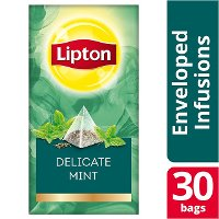 Lipton Πυραμίδα Delicate Mint 30 Φακελάκια