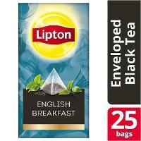 Lipton Πυραμίδα English Breakfast 25 Φακελάκια