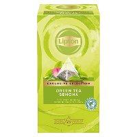Lipton Πυραμίδα Green Tea Sencha 25 Φακελάκια