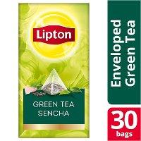 Lipton Πυραμίδα Green Tea Sencha 30 Φακελάκια