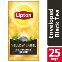 Lipton Πυραμίδα Yellow Label 25 Φακελάκια
