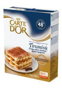 Carte d' Or Μίγμα για Κρέμα Τιραμισού 540 gr -