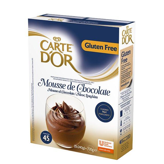Carte d' Or Μους Σοκολάτα 720 gr -