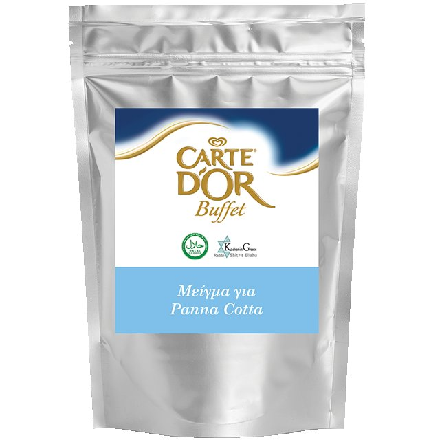 Carte D' Or Buffet Μείγμα για Panna Cotta 2 kg - Άρωμα, ελαστικότητα, σταθερότητα