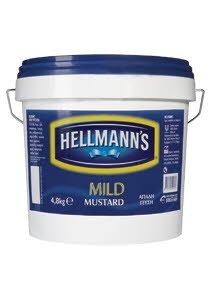 Hellmann's Απαλή Μουστάρδα 4,8 kg -