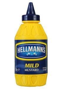 Hellmann's Απαλή Μουστάρδα 500 gr -