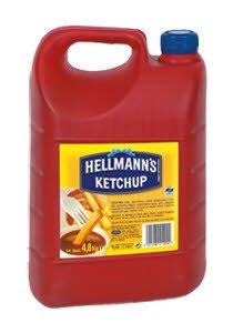 Hellmann's  Κέτσαπ 4,8 Kg