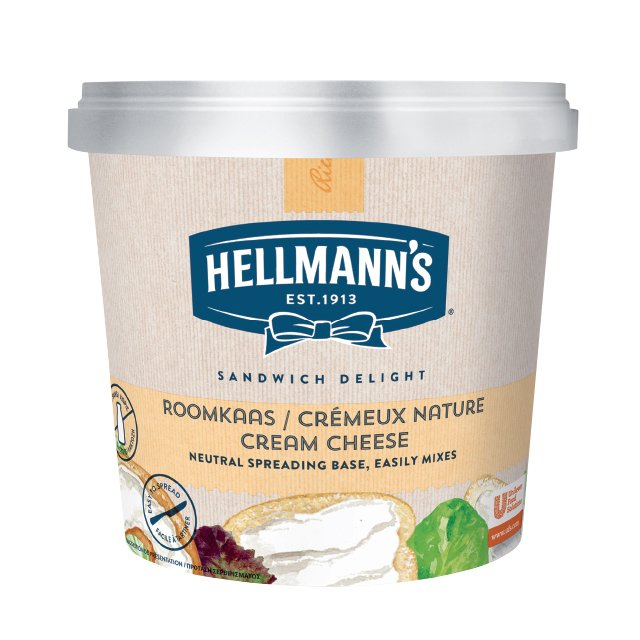 Hellmann's Cream Cheese Χωρίς Λακτόζη 1,5 kg -