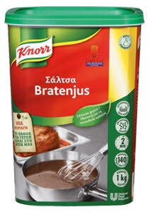 Knorr Αφυδατωμένη Σάλτσα Μπράτενζους 1 kg