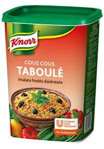 Knorr Αφυδατωμένη Σαλάτα Ταμπουλέ Cous-Cous 625 kg