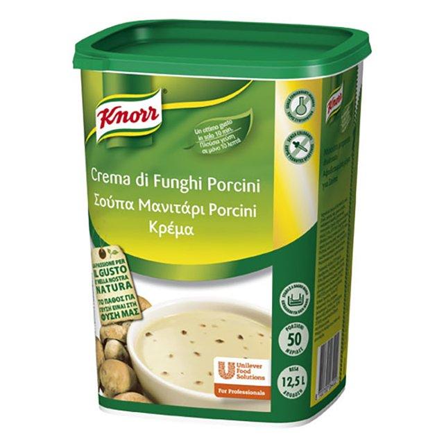 Knorr Σούπα Μανιτάρι Porcini Κρέμα 850 gr -