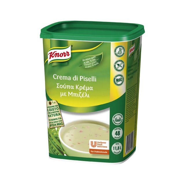 Knorr Σούπα Μπιζέλι 990 gr -