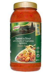 Knorr Υγρή Σάλτσα Γλυκόξινη 2,25 lt -