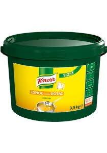 Knorr 123 Ζωμός Κοτόπουλου σε Σκόνη 3,5 kg -