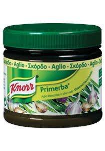 Knorr Primerba Πάστα Σκόρδο 340 gr