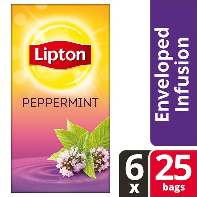 Lipton Αφέψημα Μέντα 25 Φακελάκια -