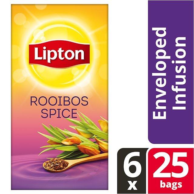 Lipton Αφέψημα με Μπαχαρικά 25 Φακελάκια -