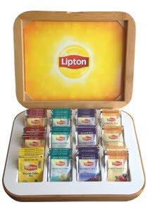 Lipton Ξύλινη Κασετίνα 84 Φακελάκια -